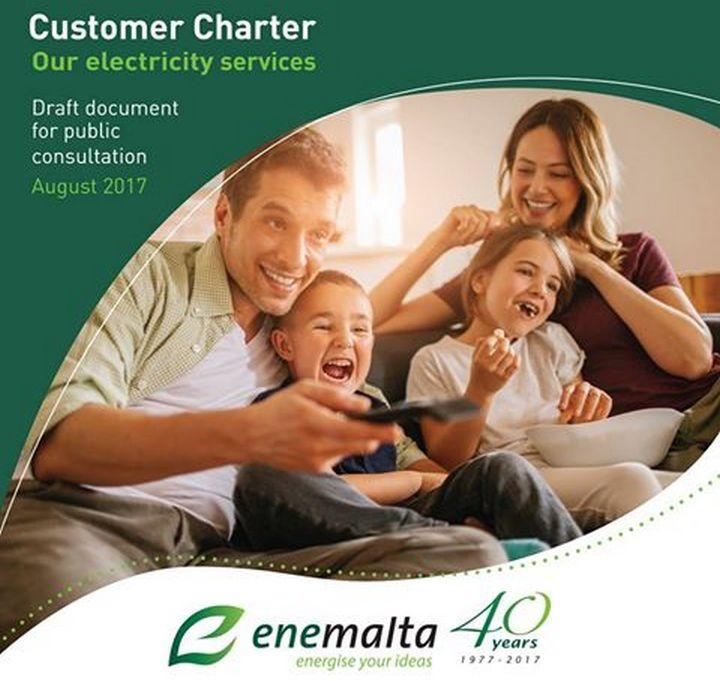 Enemalta issues new Customer Charter for public consultation