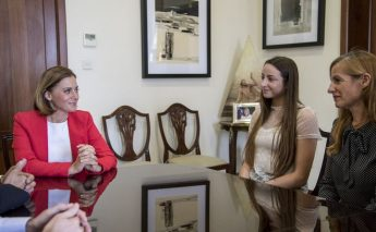 Young Gozitan dancer pays courtesy visit to the Minister for Gozo