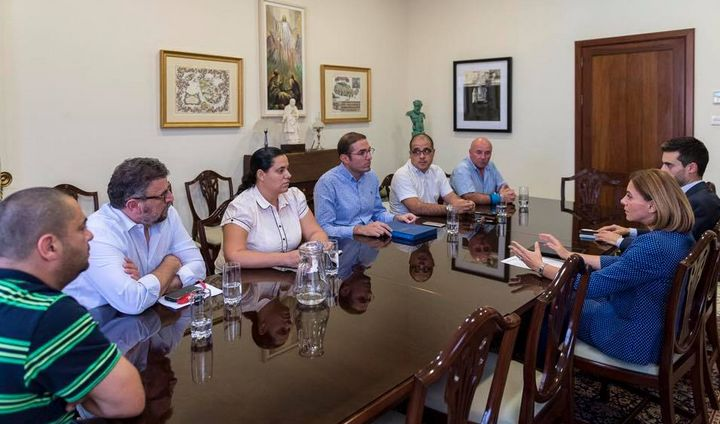 Minister for Gozo meets with members of the Victoria Local Council