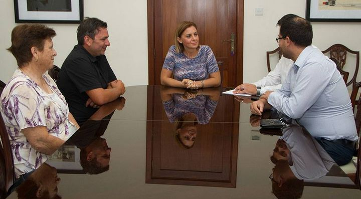 Gozo Minister meets with Santa Marija Band committee members