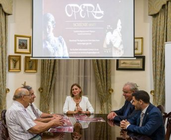 Minister for Gozo launches Opera Scheme 2017 bringing opera to all