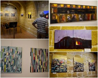 Collective exhibition of Maltese and Diaspoart artists from Paris