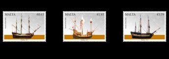 Stamp issue: Maritime Malta Series V featuring vessels of the Order
