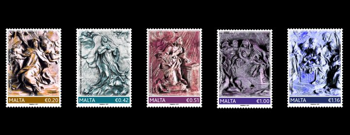 350th Anniversary of the Death of Melchiorre Gafa - stamp issue