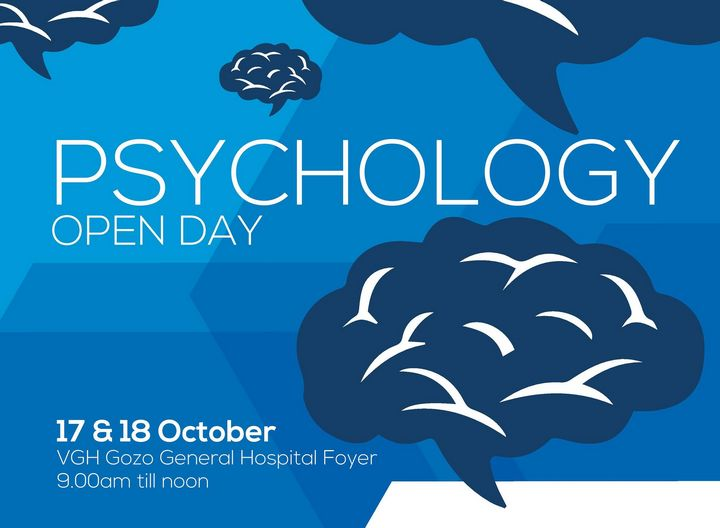 Psychology Open Days at the Gozo General Hospital