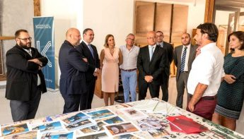 Ministers visit the Artists' Residency Programme in Gozo