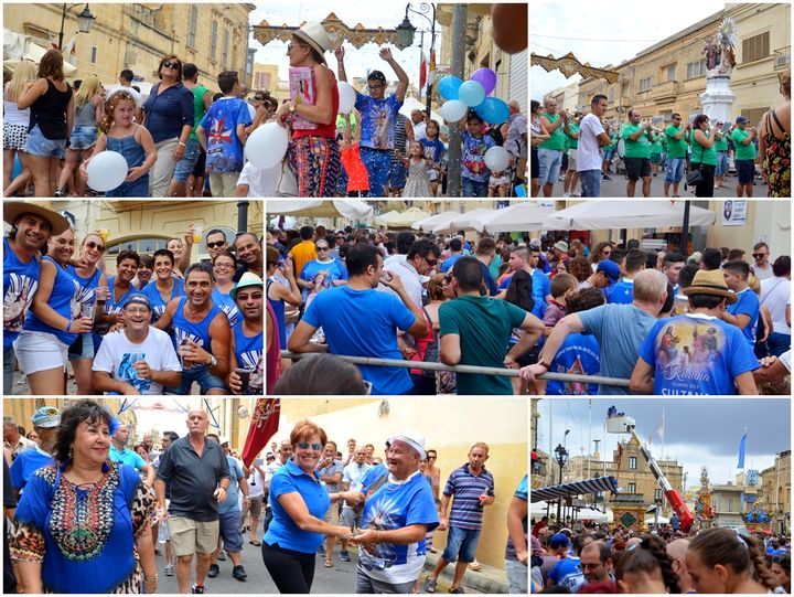 Xaghra village celebrates the Feast of the Nativity of Our Lady