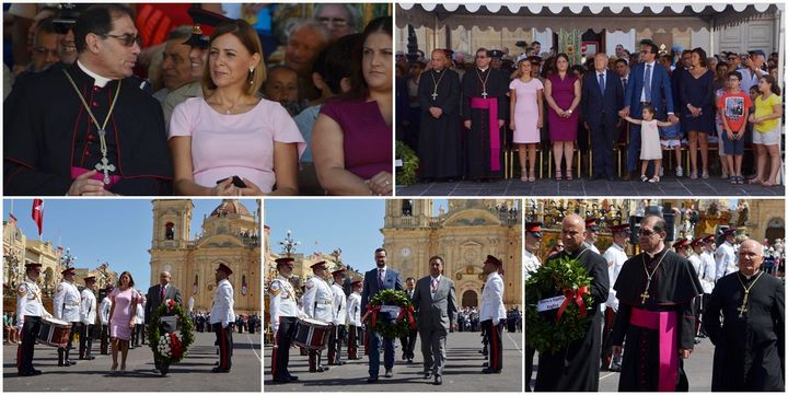 1565 and 1943 Victories of Malta commemorated in Xaghra ceremony