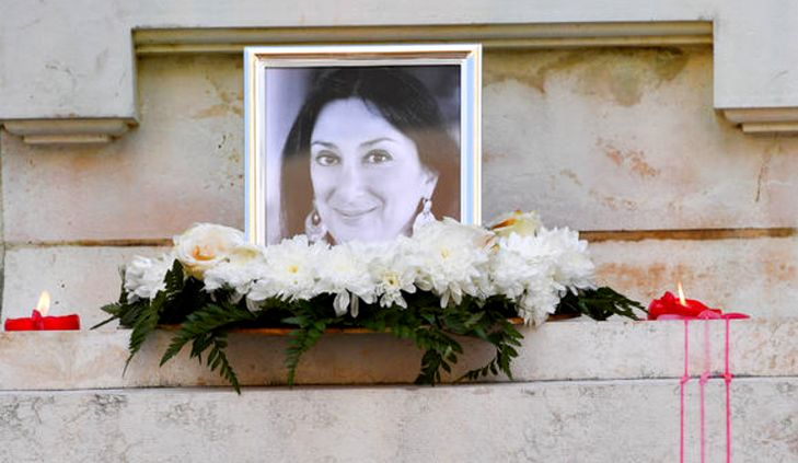 €1 million reward for information on Daphne Caruana Galizia's murder