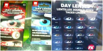Warning to avoid using cosmetic contact lenses for Halloween