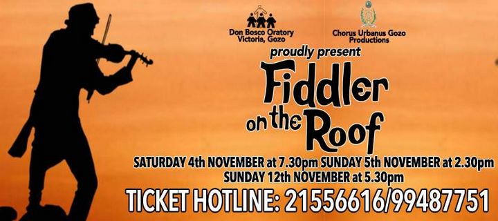 Fiddler on the Roof next month at the Don Bosco Oratory Theatre