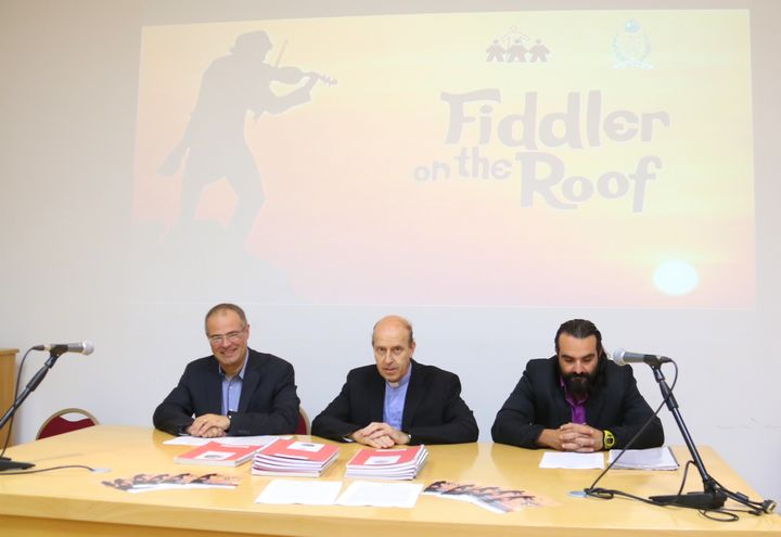 Fiddler on the Roof live on stage at Don Bosco Oratory Theatre, Gozo
