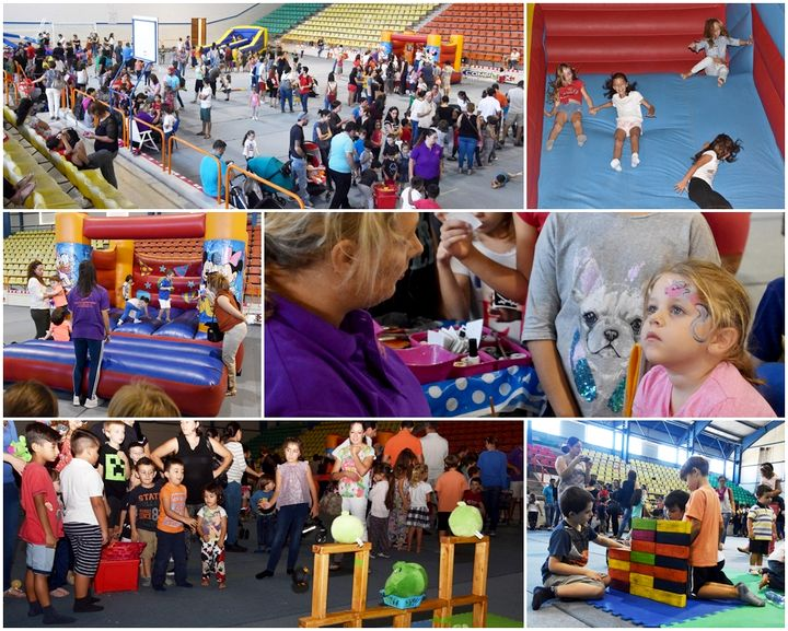 Games, fun and laughter for children at the Gozo Fun Festival