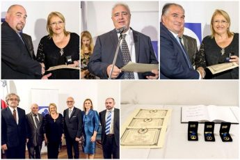 Three Gozitan entities presented with this year's Gieh Ghawdex Award