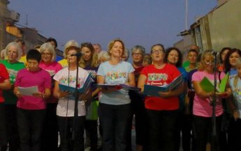 The Gozo Community Choir gives its first public performance