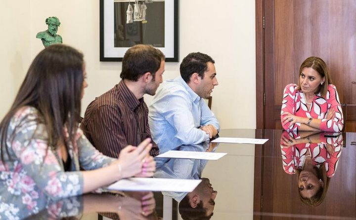 Gozo Minister meets with members of the Gozo Youth Council
