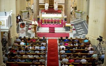Gozo celebrations held for Grandparents Day including Mass at Ta' Pinu