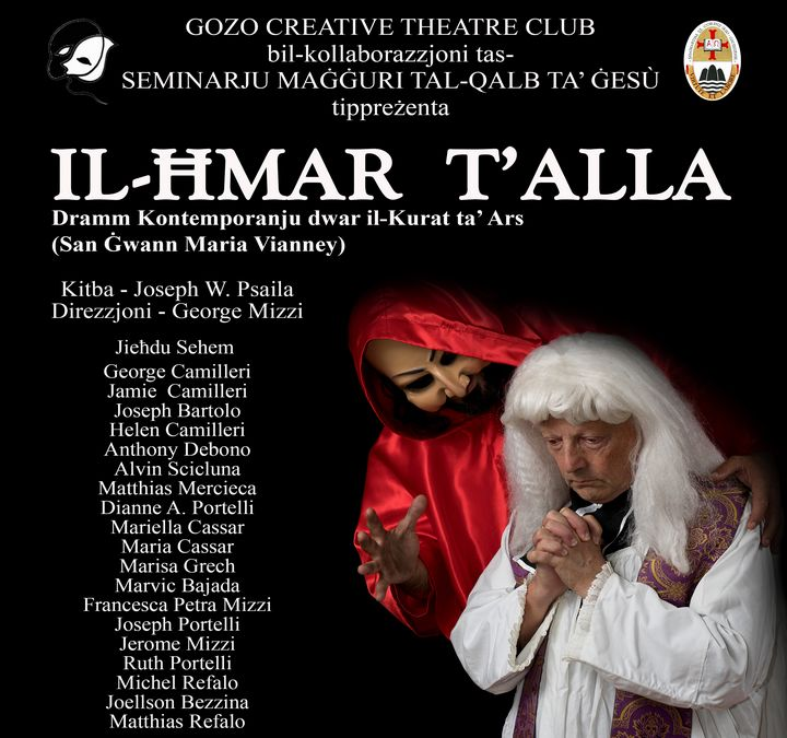 Il-Hmar t'Alla - this month at the Sacred Heart Seminary of Gozo