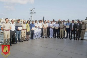 International trainees complete Operational Maritime Law course