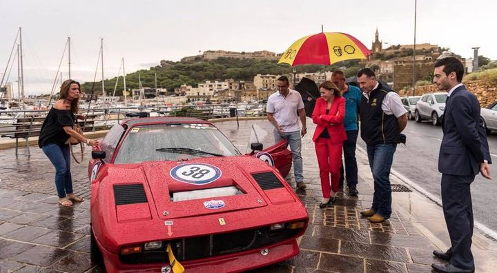 Grand Prix participants weather the storms to visit Gozo