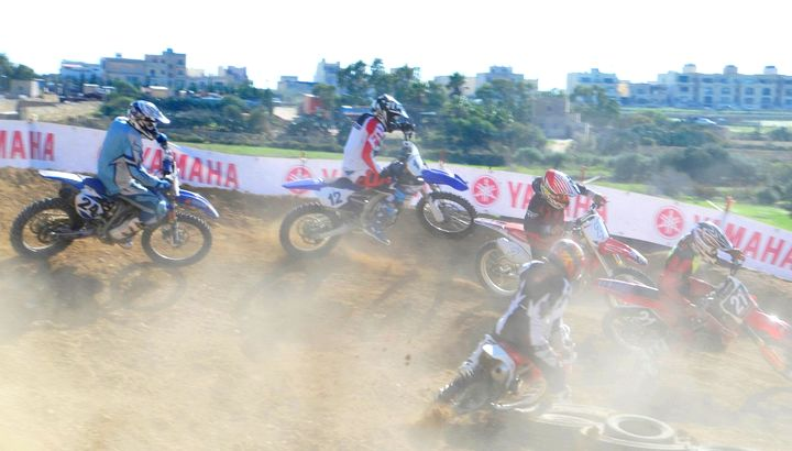 Exciting afternoon of racing opens Gozo Motocross Championship