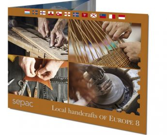 Local Handrafts of Europe - MaltaPost launches latest SEPAC folder