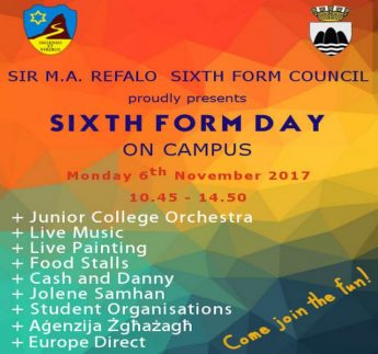 Sixth Form Day Celebrations at Sir M.A. Refalo Sixth Form, Gozo