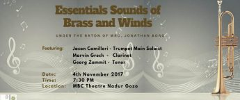 Essentials Sounds of Brass and Winds - musical concert in Nadur