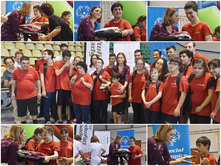 Special Olympics Gozo athletes presented with donation of sportswear