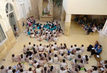 Great response from Gozo children to Prayer for Peace event