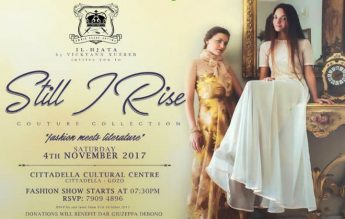 Still I Rise - Couture fashion show in aid of Dar Guzeppa Debono