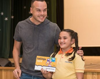 New tallinja child card and road safety trip campaign launched