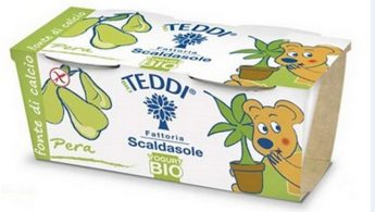 Warning that pear flavoured Teddi yogurt for children contains gluten