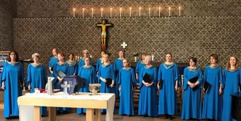 Swedish Choir Vox Feminae in concert for JP2 Memorial Festival