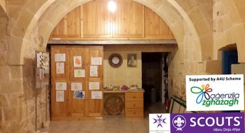 Empowering Xaghra Scouts through the use of new storage spaces