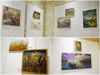 Gozo exhibition of oil and watermedia paintings by Anastasia Pace