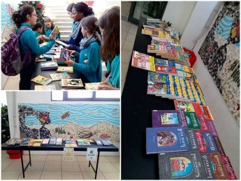 Book Swap event held at Bishop's Conservatory Secondary School