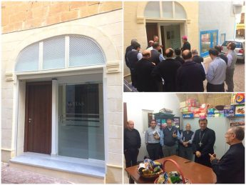 New office of the Diocesan Caritas inaugurated in Victoria