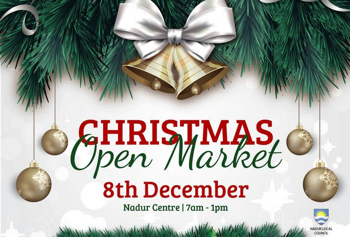 Nadur Christmas Open Market tomorrow in the main square