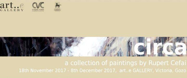 Circa - an exhibition of paintings by Rupert Cefai opening in Gozo