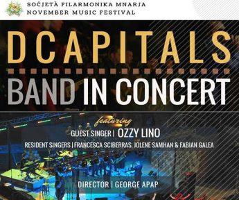 DCapitals Band in live concert at the MBC Theatre, Nadur