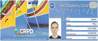 New European Union Disability Card launched in Malta
