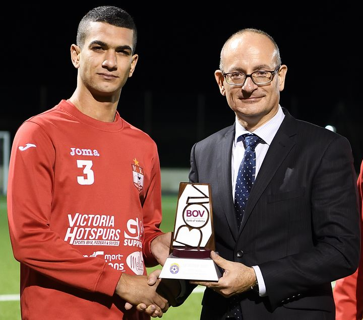 Ferdinando Apap is the BOV GFA Player of the Month