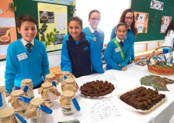 EkoSkola Project showcased at Gozo College Middle School Open Day