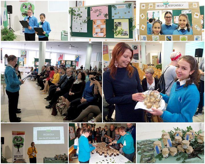 EkoSkola Project showcased at Gozo College Middle School Open Day