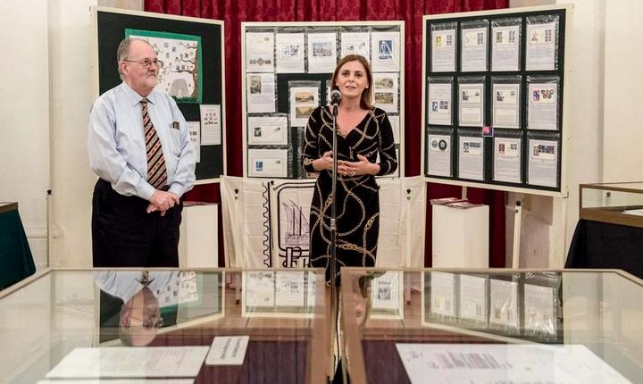 Gozo Minister inaugurates the annual Philatelic Exhibition