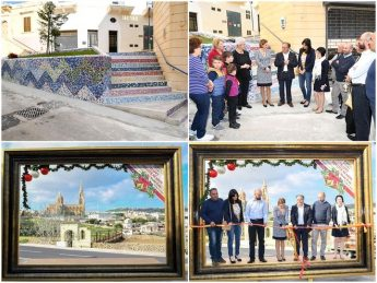 Gozo Minister inaugurates two Ghajnsielem community projects
