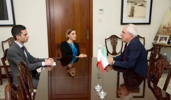New Italian Ambassador to Malta meets with Minister for Gozo