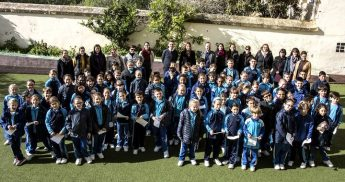 Year Four students from Lija Primary visit fellow students in Victoria