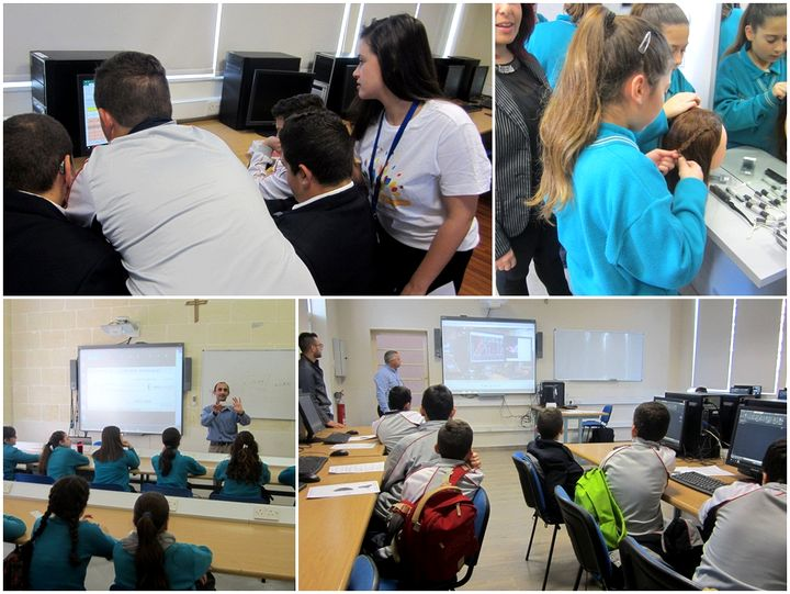 MCAST Gozo Campus hosts Year 8 students for a VET experience